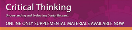 Critical Thinking  Understanding and Evaluating Dental Research by Donald  Maxwell Brunette    Nov       Paperback  Amazon com  Books