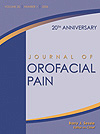 Journal of Orofacial Pain