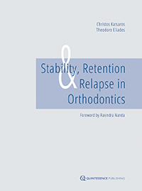 Stability, Retention, and Relapse in Orthodontics